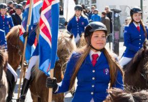 Жители Исландии